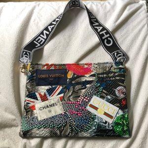 Chanel, Louis Vuitton ,Gucci